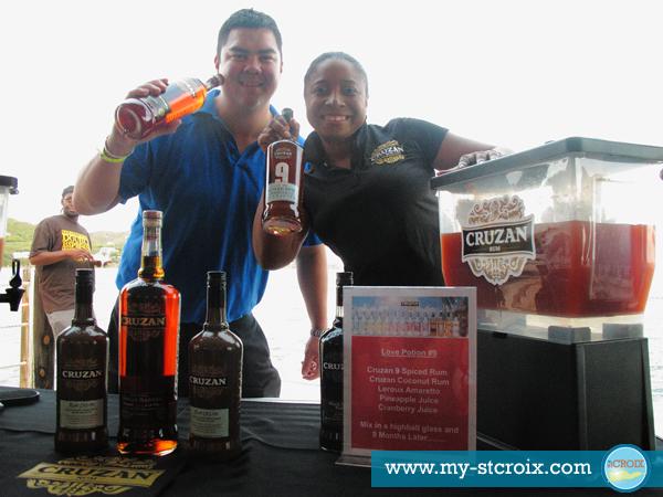 Taste of St Croix Cruzan Rum
