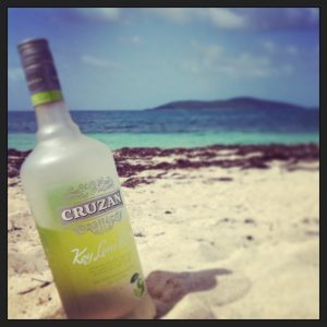Cruzan Rum Lime Buck Island
