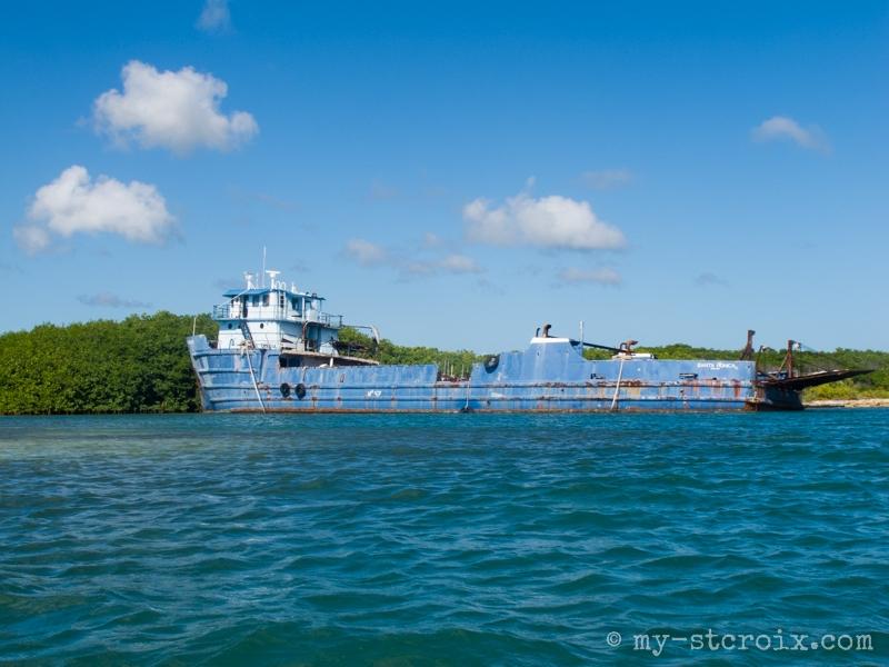 Shell Island Boat Wreck