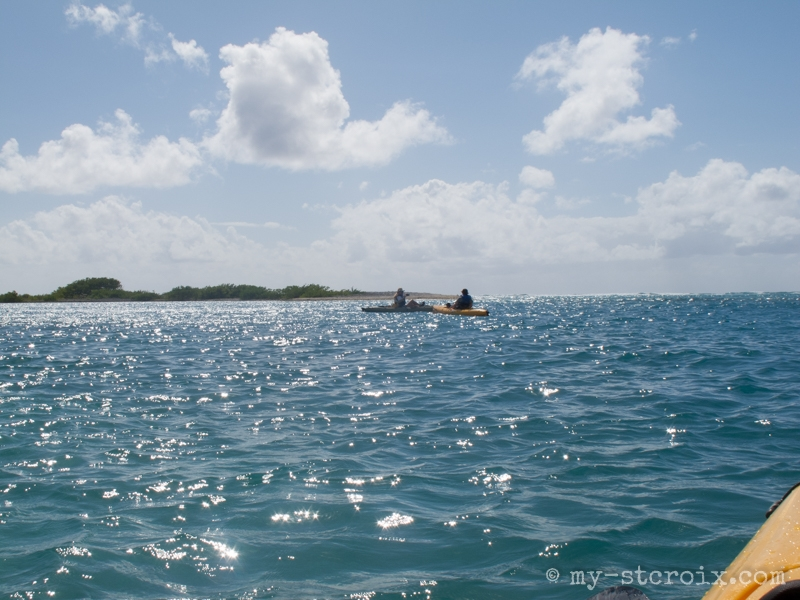 Crossing the Channel to Shell Island
