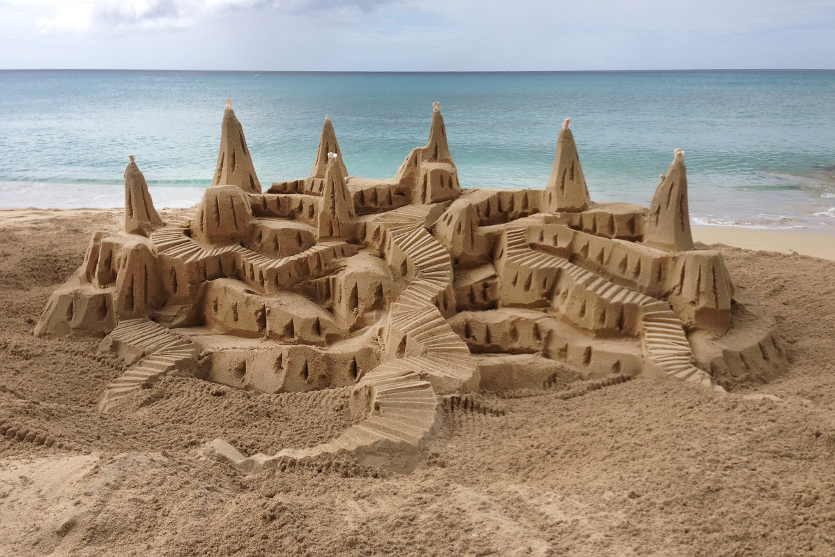 bruno's sandcastle