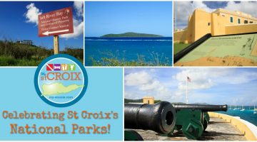 1 little Island with 3 National Parks!