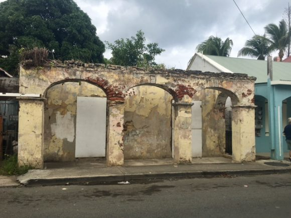 danish building ruins christiansted