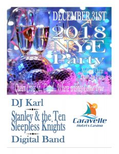 Caravelle New Year's Eve Party 2018