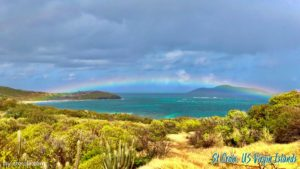 RAINBOW OVER BUCK ISLAND