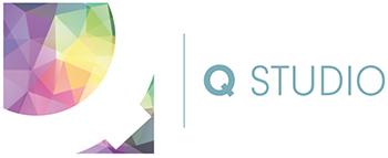 q studio logo